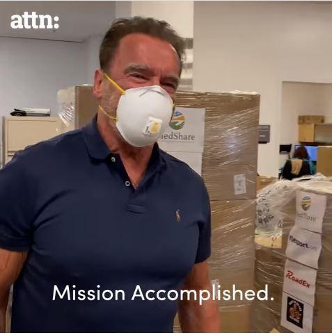 'Kẻ hủy diệt' Arnold Schwarzenegger góp triệu đô diệt COVID-19 - ảnh 2