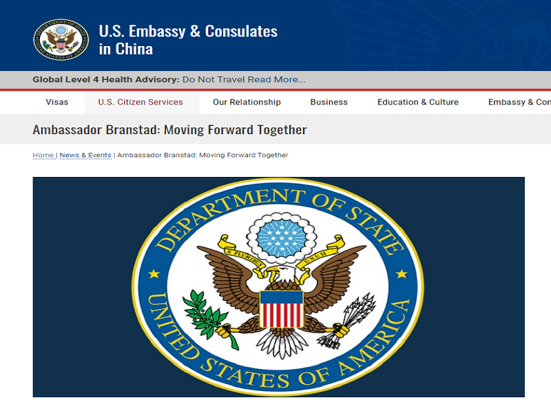 Đại sứ Mỹ tại Trung Quốc mềm mỏng, kêu gọi hợp tác chống dịch - ảnh 1