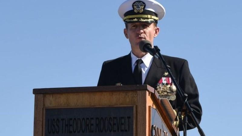 COVID-19:Thuyền trưởng tàu sân bay Mỹ bị chỉ trích 'ngu ngốc'  - ảnh 2