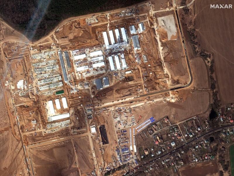 Bệnh viện dã chiến COVID-19 Nga cháy lớn, 1 người thiệt mạng - ảnh 1