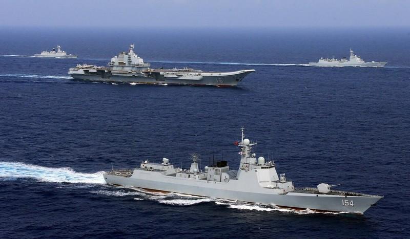 Trung Quốc tung đội tàu sân bay Liêu Ninh ra Thái Bình Dương - ảnh 1