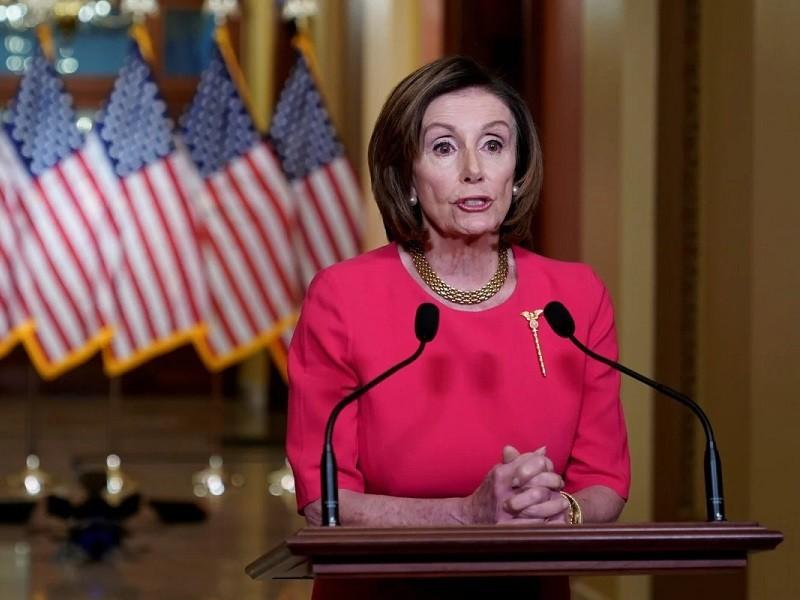 Bà Pelosi nói sẽ không để yên cho ông Trump cắt tiền WHO - ảnh 1