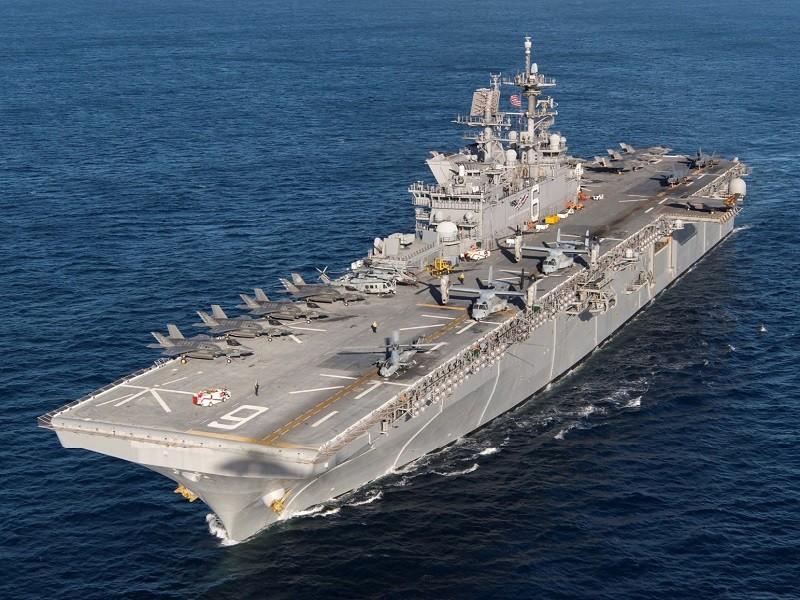 Mỹ điều 2 tàu chiến ra biển Đông, nghi gần nơi tàu Hải Dương 8 - ảnh 1