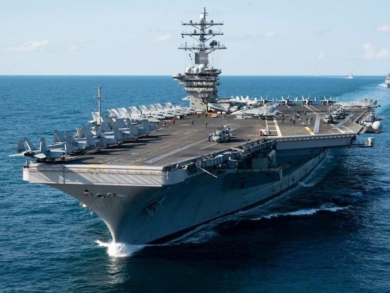 Lầu Năm Góc đề xuất Hải quân Mỹ giảm số lượng tàu sân bay - ảnh 1
