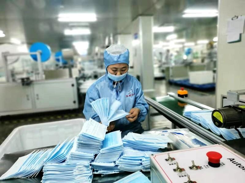 Trung Quốc tịch thu 89 triệu khẩu trang kém chất lượng  - ảnh 1