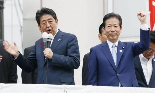 Nội bộ chính trị Nhật Bản lao đao vì đại dịch COVID-19 - ảnh 1