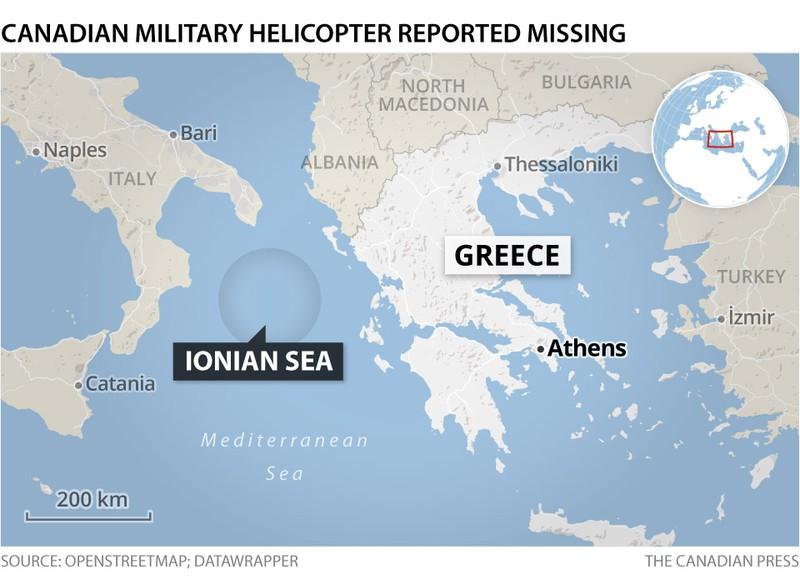 Một trực thăng NATO gặp nạn khi diễn tập ngoài khơi Hy Lạp - ảnh 2
