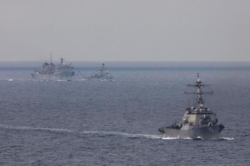 Lần đầu tiên sau 30 năm, tàu chiến Mỹ đi vào vùng biển bắc Nga - ảnh 1