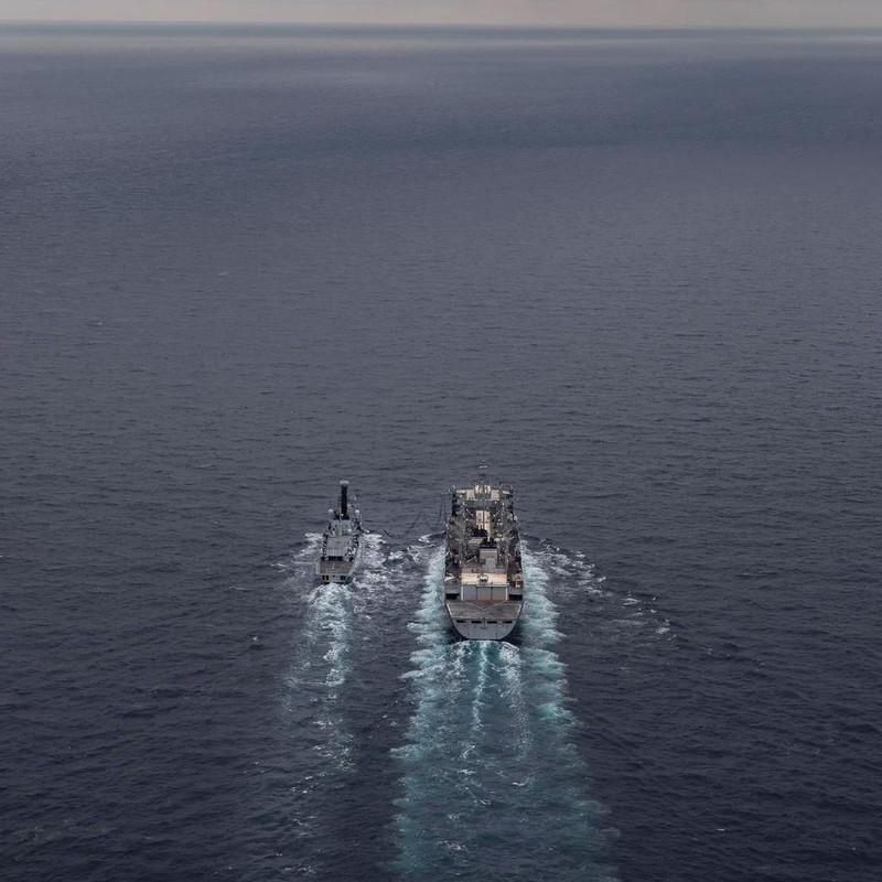 Lần đầu tiên sau 30 năm, tàu chiến Mỹ đi vào vùng biển bắc Nga - ảnh 3