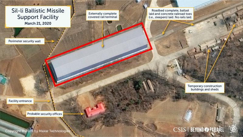 Lộ hình ảnh căn cứ tên lửa bí mật mới của Triều Tiên - ảnh 2