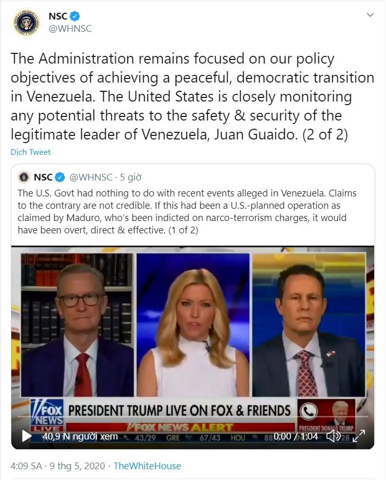 Ông Trump: Nếu hành động ở Venezuela, Mỹ sẽ huy động quân đội - ảnh 2