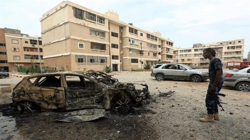 Quân chính phủ Libya phản công phe của ông Haftar ở Tripoli - ảnh 1