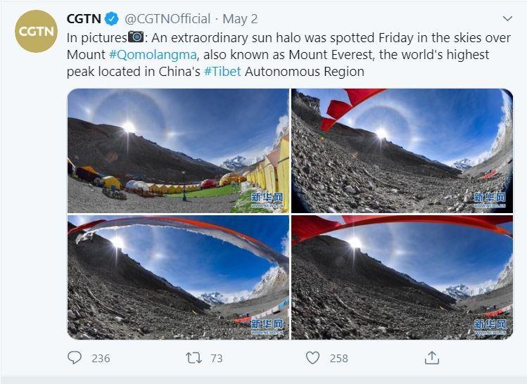 Truyền thông Trung Quốc nhận vơ Everest, dân Nepal phản ứng - ảnh 1