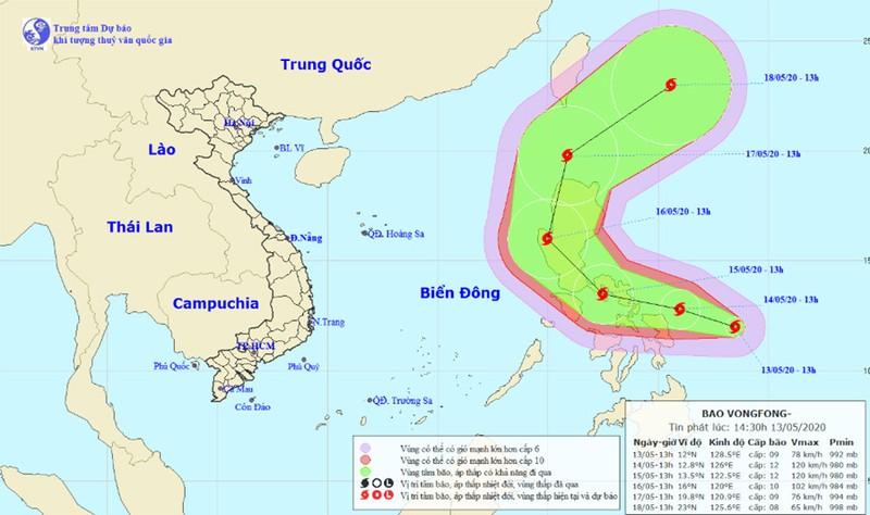 Philippines chuẩn bị đón cơn bão đầu tiên của năm 2020 - ảnh 1