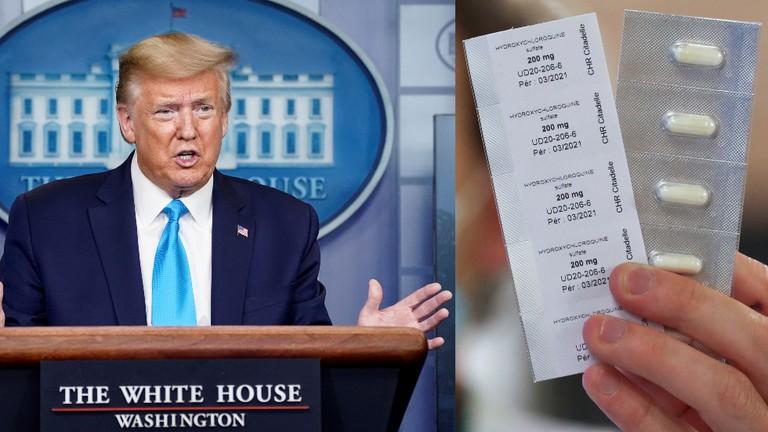 Ông Trump mâu thuẫn truyền thông Mỹ về loại thuốc ngừa COVID19 - ảnh 2
