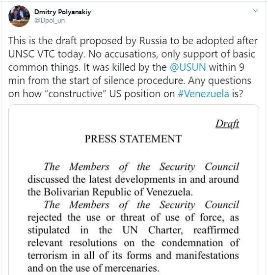 Nga lên tiếng việc bên ngoài can thiệp chủ quyền Venezuela - ảnh 2