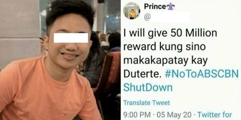 5 người bị bắt vì treo giải triệu đô ám sát Tổng thống Duterte - ảnh 2