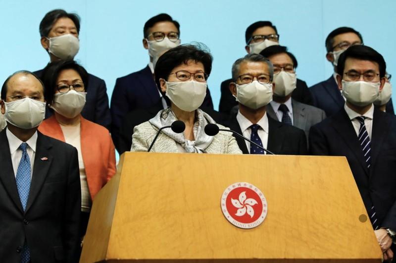 Bắc Kinh lên tiếng về dự luật an ninh quốc gia Hong Kong  - ảnh 1