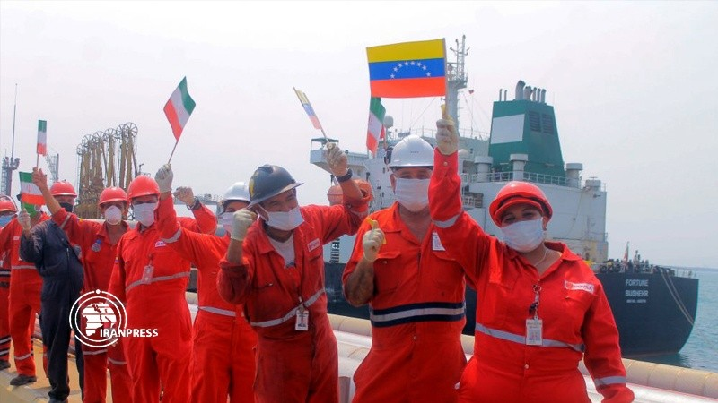 Tàu dầu thứ 3 của Iran vào vùng biển Venezuela - ảnh 2