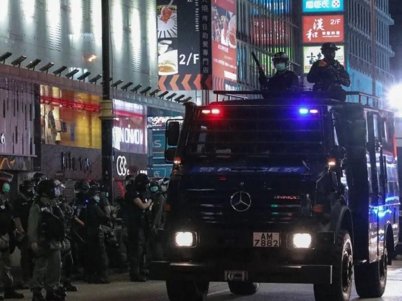 Hơn 360 người biểu tình Hong Kong bị bắt giữ - ảnh 3