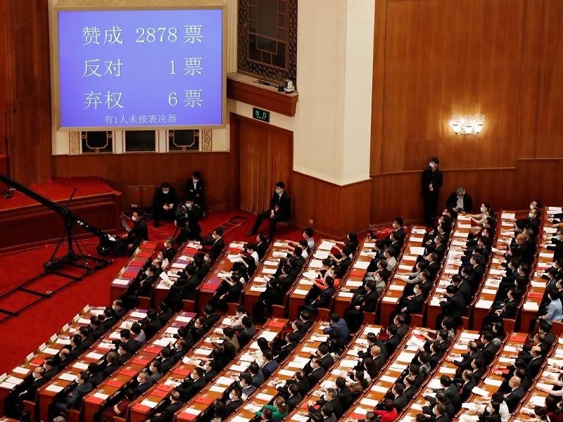 Quốc hội Trung Quốc phê chuẩn luật an ninh cho Hong Kong - ảnh 1