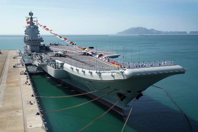 Trung Quốc tuyên bố vận hành thử tàu sân bay Sơn Đông tự đóng  - ảnh 1