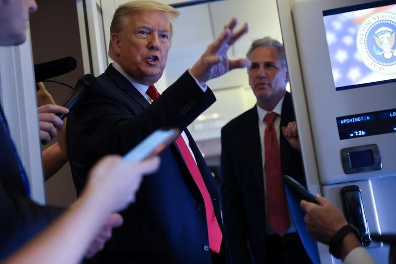 Ông Trump hoãn họp G7, nói nhóm này cần mở rộng thành viên - ảnh 1