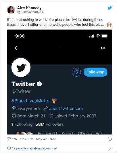 Giữa sóng biểu tình ở Mỹ, Twitter chuyển logo sang màu đen - ảnh 2
