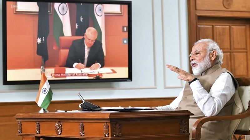 Biển Đông căng thẳng, Úc - Ấn Độ siết chặt hợp tác quốc phòng  - ảnh 1