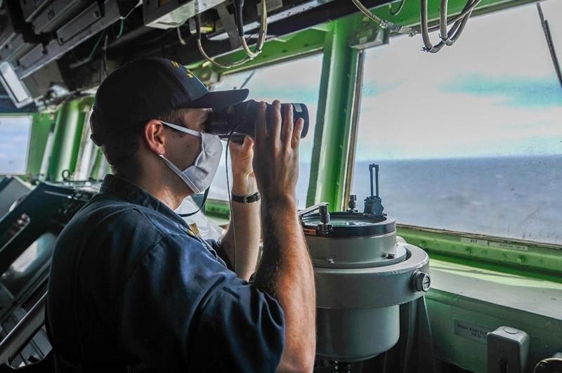 Tàu chiến Mỹ qua eo biển Đài Loan trùng kỷ niệm Thiên An Môn - ảnh 2