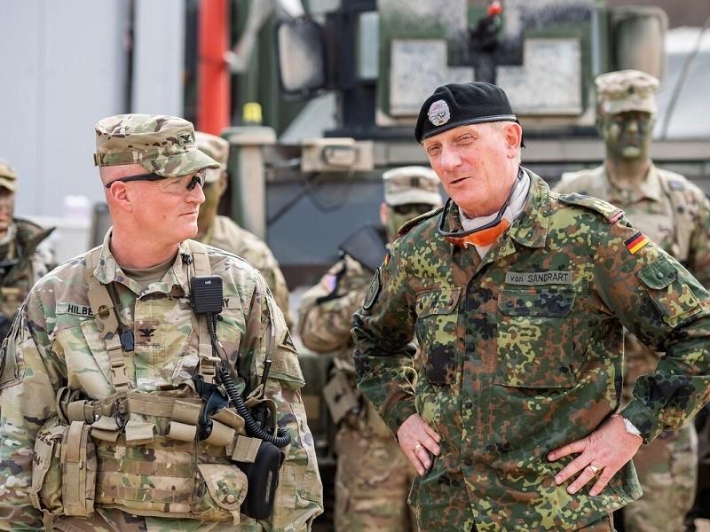 Ông Trump ra lệnh rút một lượng lớn quân Mỹ khỏi Đức - ảnh 1