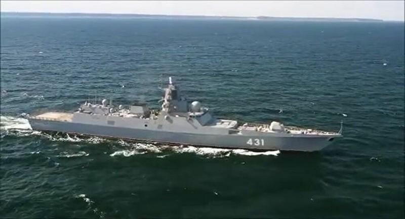 Tàu chiến tàng hình cao cấp của Nga hoàn tất thử nghiệm - ảnh 1
