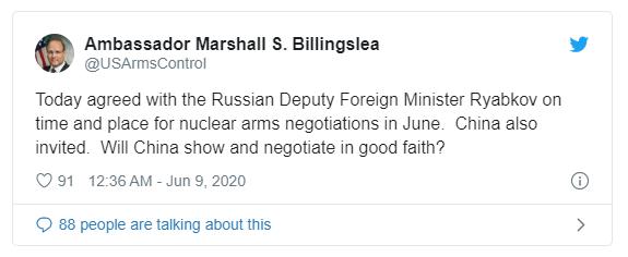 Nga-Mỹ đồng ý đàm phán hạt nhân, mời Trung Quốc tham gia - ảnh 1