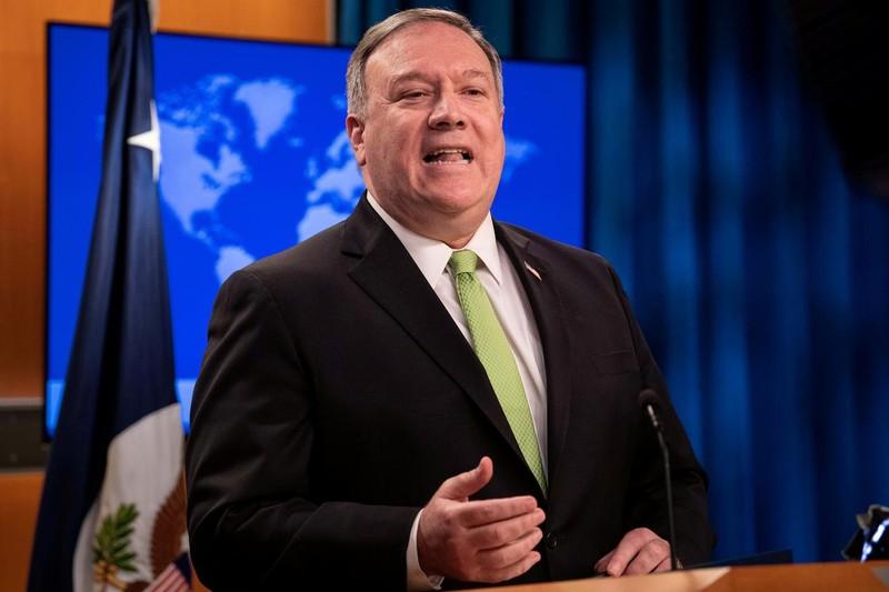 Mỹ: Biện pháp trừng phạt Iran bắt đầu có hiệu lực - ảnh 1