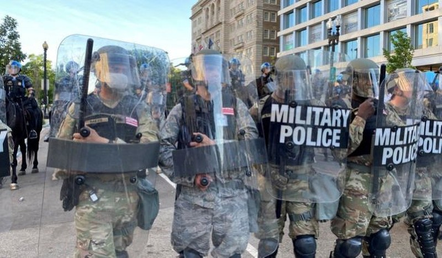 Mỹ: Vệ binh Quốc gia nhiễm COVID-19 sau khi đối phó biểu tình - ảnh 1