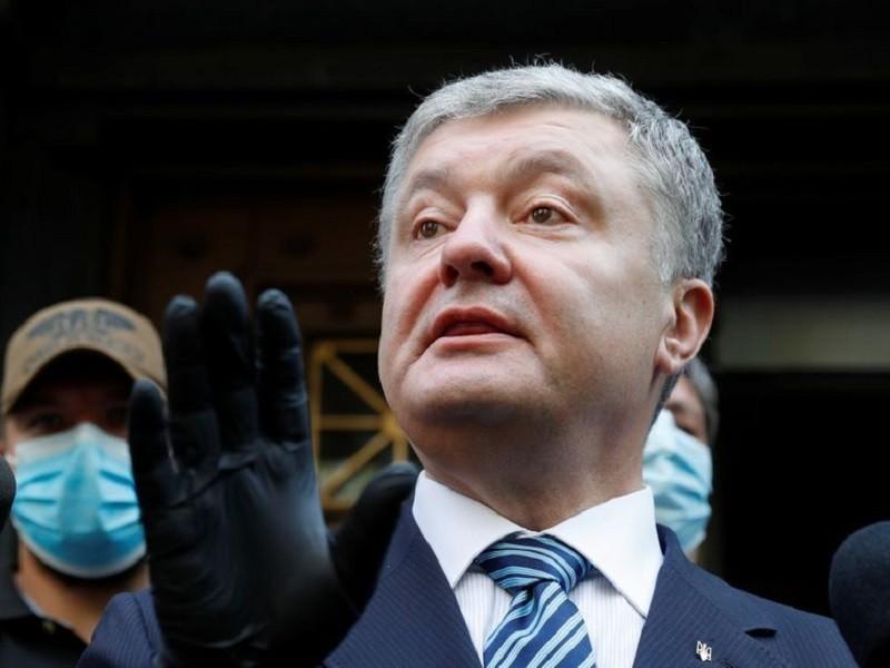 Cựu Tổng thống Ukraine Poroshenko bị điều tra về tình báo - ảnh 1