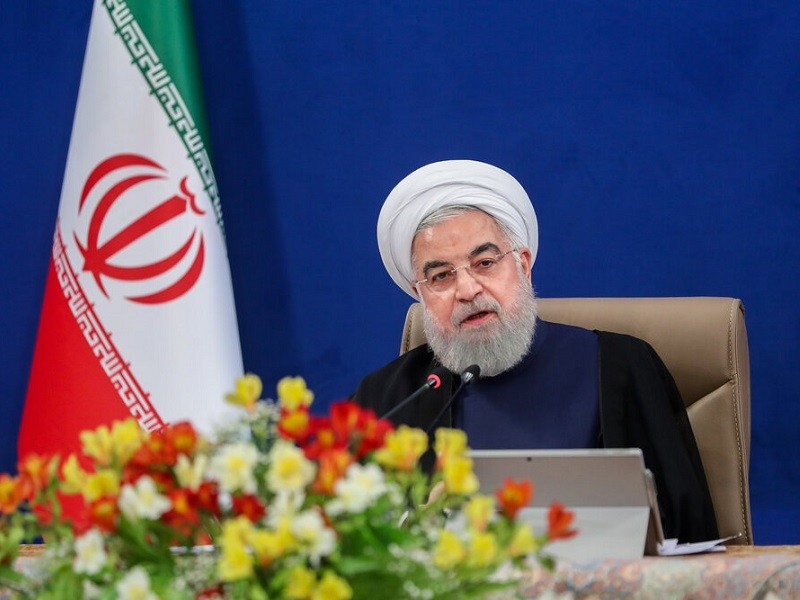 Ông Rouhani mong Nga-Trung phản đối Mỹ kéo dài trừng phạt Iran - ảnh 1