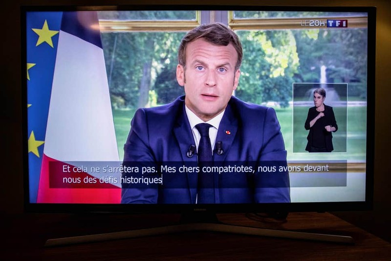 Ông Macron muốn châu Âu bớt phụ thuộc Mỹ, Trung Quốc - ảnh 1