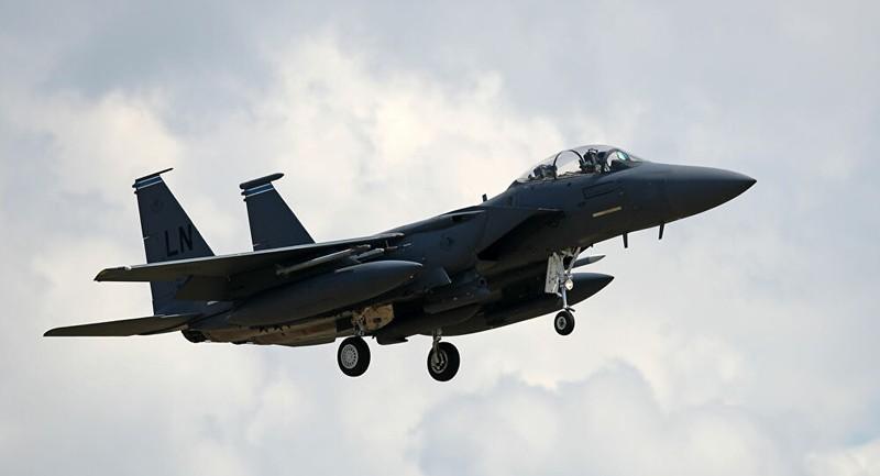 Mỹ mất 1 phi công, 1 máy bay chiến đấu ở Biển Bắc - ảnh 1