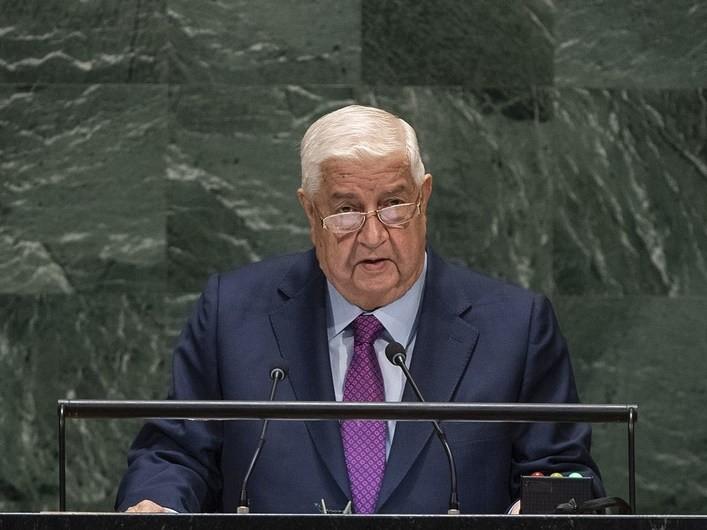Syria nói sẽ chống trừng phạt từ Mỹ như chiến đấu với khủng bố - ảnh 1