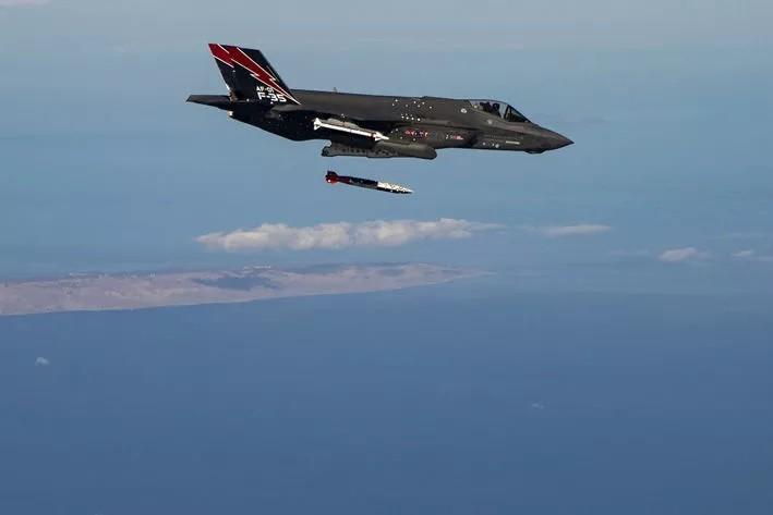 Ảnh: F-35 thử nghiệm thả bom hạt nhân - ảnh 5