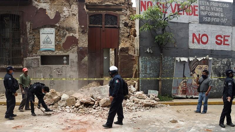 Động đất 7,4 độ Richter rung chuyển Mexico, nguy cơ sóng thần - ảnh 1