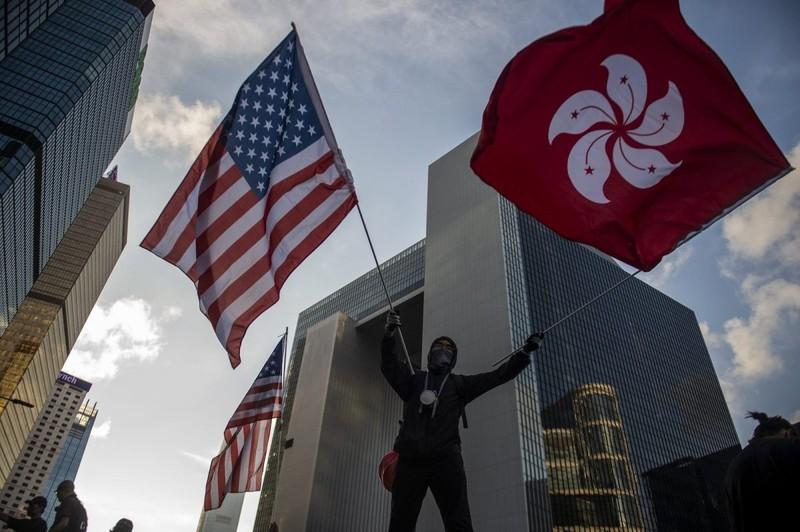 Hong Kong: Mỹ đừng lợi dụng can thiệp vào nội bộ đặc khu  - ảnh 1