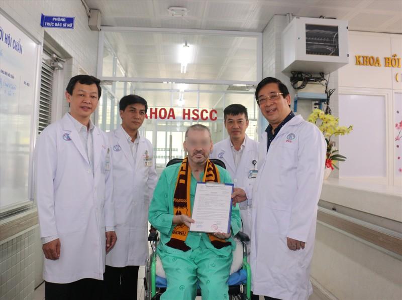 Bệnh nhân 91: 'Không có Việt Nam, tôi không thể có mặt ở đây' - ảnh 1