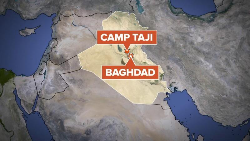 Đoàn xe quân sự Mỹ nổ tung ở Iraq - ảnh 2