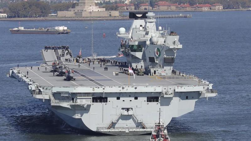 Anh sẽ điều tàu sân bay gia nhập hạm đội Mỹ, Nhật ở AĐD-TBD - ảnh 1