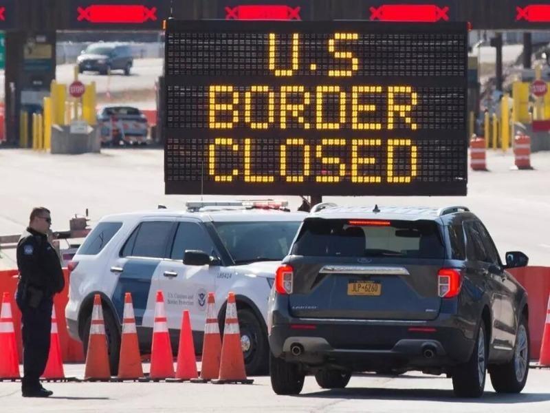 Mỹ tiếp tục đóng cửa biên giới với Canada và Mexico - ảnh 1