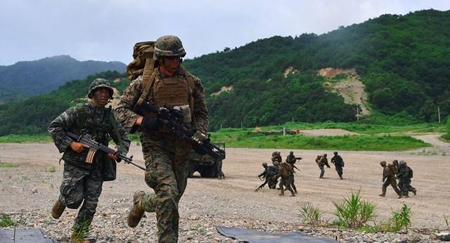Sau Đức, Mỹ xem xét kế hoạch rút quân khỏi Hàn Quốc - ảnh 1