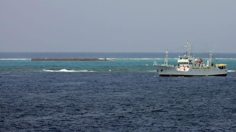 Tàu khảo sát Trung Quốc xuất hiện gần đảo Okinotori của Nhật  - ảnh 1