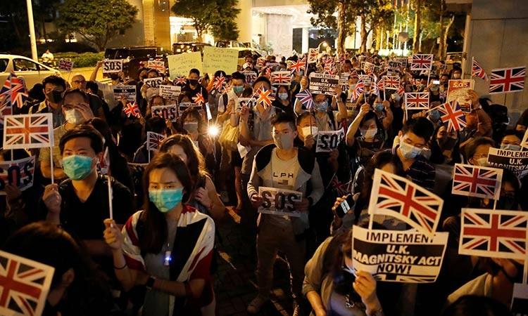 Trung Quốc chỉ trích chính sách nhập cư của Anh cho Hong Kong - ảnh 1